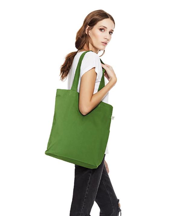 Tote bag couleur adegem la fibre verte