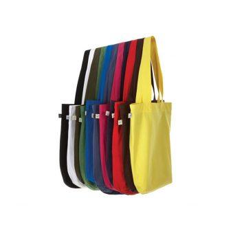 sac en coton biologique de différentes couleurs