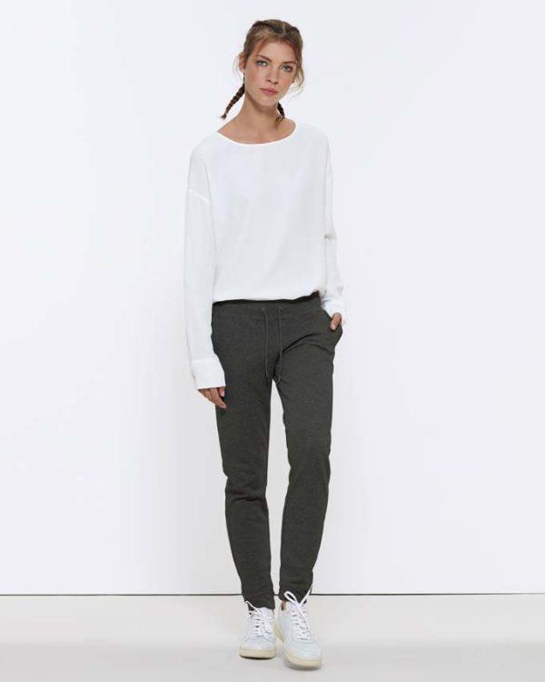 Stella Traces, pantalon de jogging femme, coton biologique, 300 g/m2,