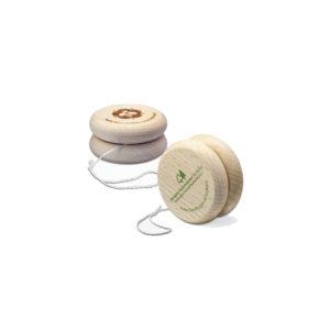 yoyo en bois issu de forêts gérées durablement, diamètre 60 mm, fabrication européenne
