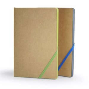 CARNET DE NOTES VINTAGE EN CARTON RECYCLE DOUBLE ADEGEM LA FIBRE VERTE