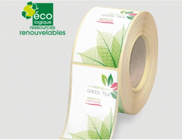 Etiquettes fibre canne adegem la fibre verte