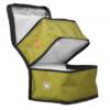 Lunchbox double compartiments en P.E.T recyclé Adegem La Fibre Verte