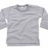 Sweatshirt bebe heather grey 2 Adegem La Fibre Verte