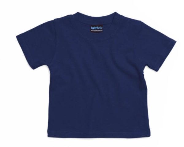 T-shirt bébé navy Adegem La Fibre Verte